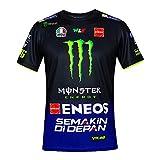 Valentino Rossi Herren Replica- Yamaha Dual - Racing T-Shirt -