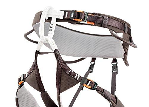 PETZL Aquila - Cinturón de Cadera para Adultos, Color Gris/marrón, S