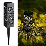 Maggift 8 Pcs Solar Powered LED Garden Lights, Automatic Led for Patio, Yard and Garden