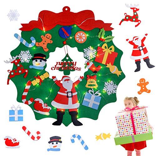 JOLVVN Weihnachtsbaum Zierschmuck, Frohe Weihnachten Neujahr für Famlilien draußen drinnen Weihnachtsdekoration