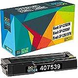 Do it Wiser Compatible Toner Cartridge Replacement for Ricoh SP C250DN Ricoh SP C250SF SP C261SFN | 407539 (Black)