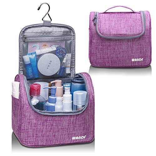 Hanging Toiletry Bag Travel Cosmetic Organizer Shower Bathroom Bag for Men Women Water-Resistant