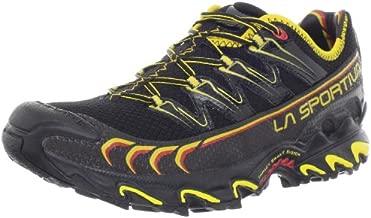 La Sportiva Ultra Raptor Men's Mountain Trail Running Shoe, Black/Yellow, 40