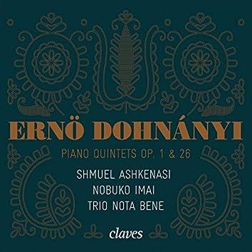 Dohnányi: Piano Quintets Op. 1 & 26