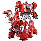 ZYYYYY Regalo del día de los niños 21cm transformando juguete dragón robot modelo