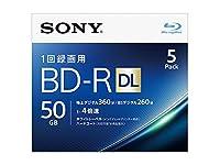 エスコ(ESCO) BD-R(ビデオ用4倍速/5枚) 50GB EA759GS-66B