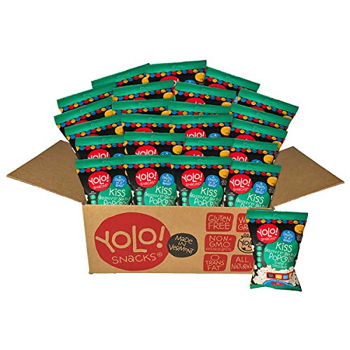 Lowest Price! YOLO! Snacks – Gourmet KISS (Keepin' It Sea Salt) Flavor Individual Bag Popped Pop...
