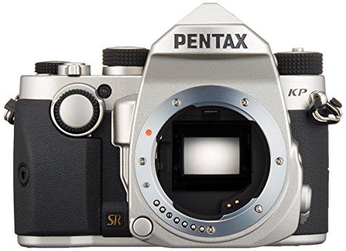 PENTAX デジタル一眼レフカメラ KP ボディ シルバー 防塵 防滴 -10℃耐寒 アウトドア 高感度 5軸5段手ぶれ補正 KP BODY SILVER 16044