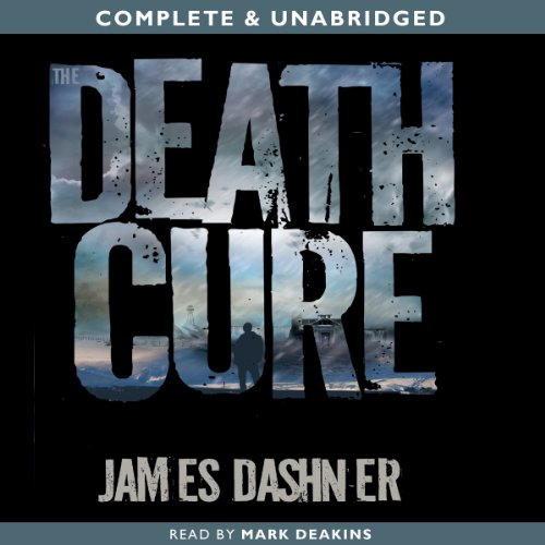 The Death Cure audiobook cover art