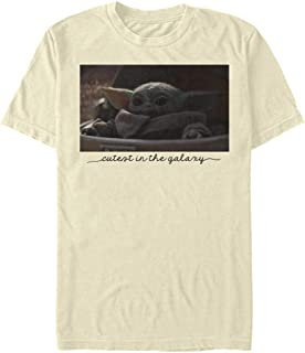 Star Wars Camiseta para hombre Cutest Photo Natural