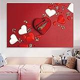 Pintura decorativa Arte escandinavo Rosa Piano gato póster lienzo pintura clásica pared arte decoración del hogar imágenes para decoración de sala de estar 60x80cm