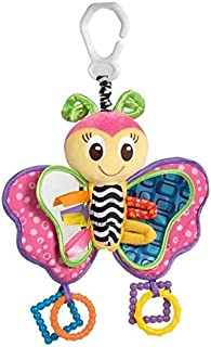 Playgro Blossom Butterfly Hanger Baby Rattles & Mobiles Toy for Bed Crib Cradle Cot Pram Stroller Pushchair with Soft Mirror