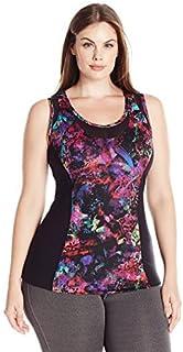 Rainbeau Curves Women's Plus SizeBillie Print Tank Size, Floral