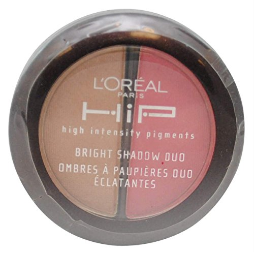 LOreal HiP High Intensity Pigments Bright Shadow Duo, Adventurous 114 by LOreal Paris