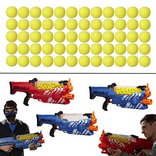 Jancase 150PCS Rival Ball Refill Pack for Nerf Rival Series