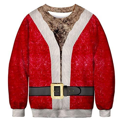 SUCES - Volleyball Pullover & Sweatshirts für Herren in rot, Größe M