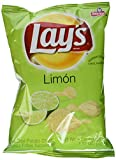 Lay's Limon Potato Chips, 1.5 ounce bag (8 bags per pack)