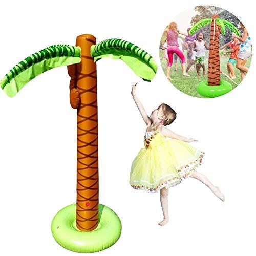 MYRCLMY Sprinkler Beach Ball Splash Wasser Kinder Spray Beach Ball Spielzeug, Sommer Aufblasbarer Sprinkler, Garten, Hinterhof, Swimming-Pool, Strand-Party-Zubehör