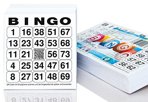 Fichas Bingo 500 Marca DiPrint
