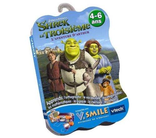 V.Smile - Jeu éducatif - Shrek le troisième : l'aventure d'Arthur