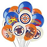 Cracoo Dart War Party Supplies Balloons,Gun Picks Target Birthday Bullet War Party Decoration