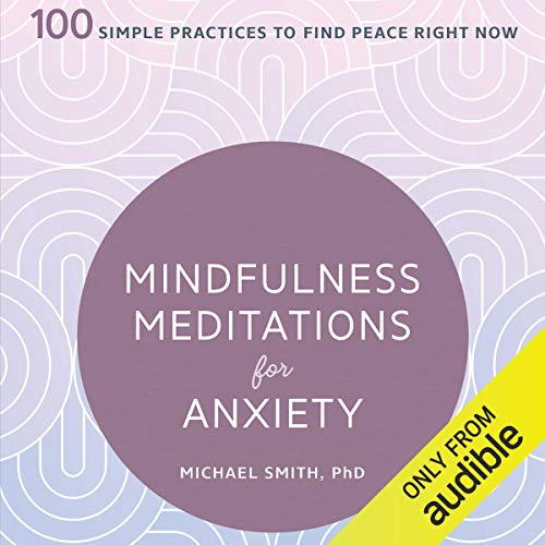 『Mindfulness Meditations for Anxiety』のカバーアート