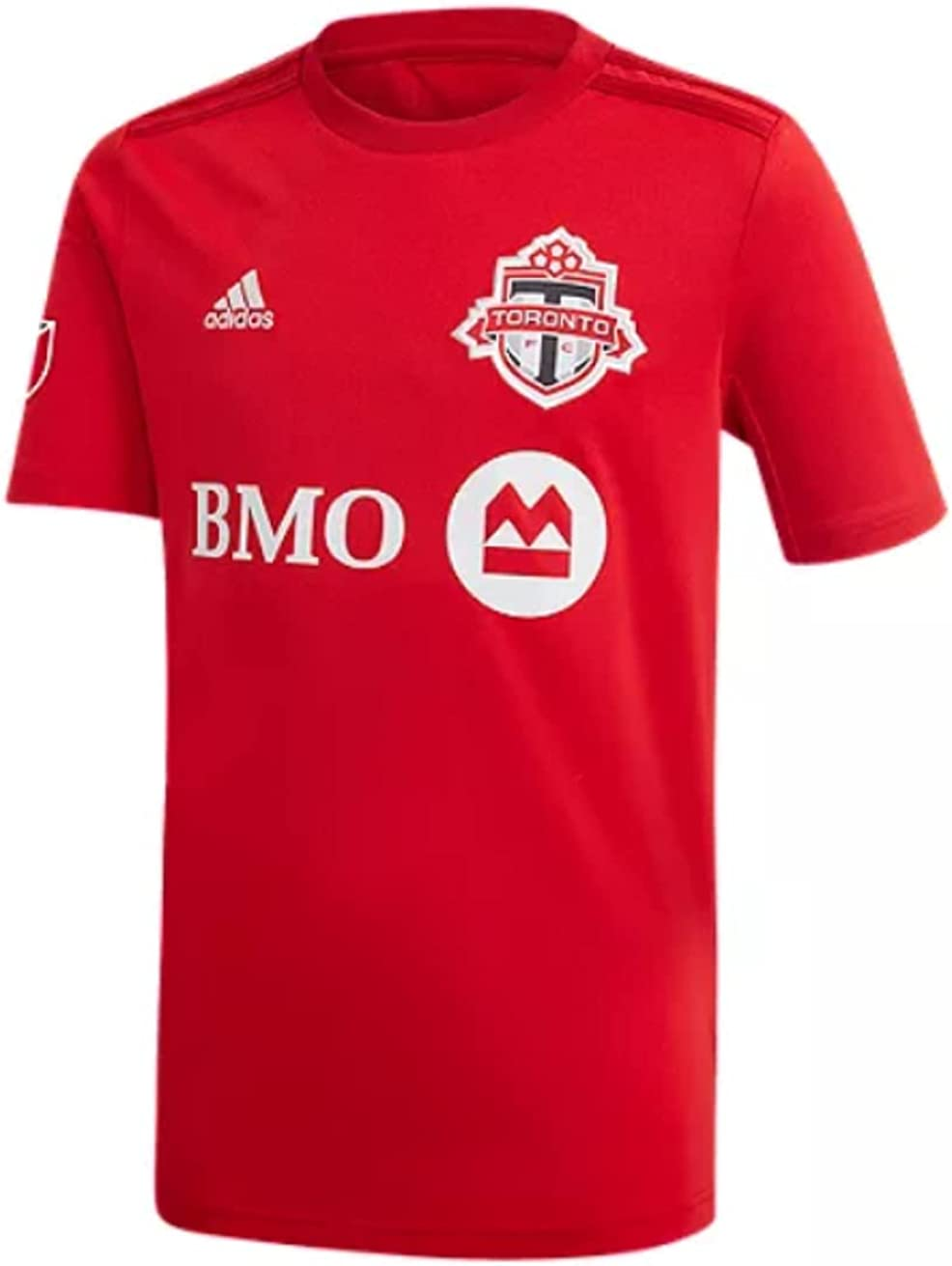 adidas Toronto Seattle Mall FC MLS Big Boys Red Soccer Home Jersey Free shipping / New Youth