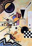 1art1 Wassily Kandinsky - Contrasting Sounds Poster