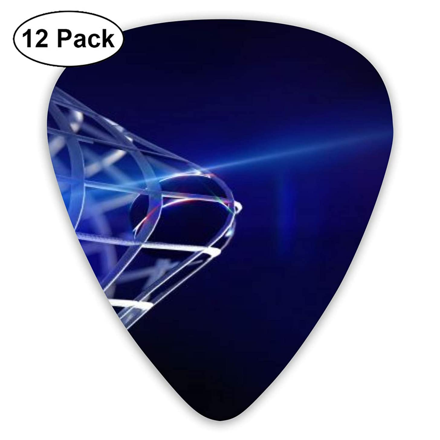 Ice Hockey Net Goal Guitar Picks Universal 351-shaped 0.46mm/ 0.71mm/ 0.96mm ABS Celluloid Plectrum Custom for Electric Acoustic Guitars for Kids Teens Adults Bass Best Stockings Stuffer Gift -12pcs