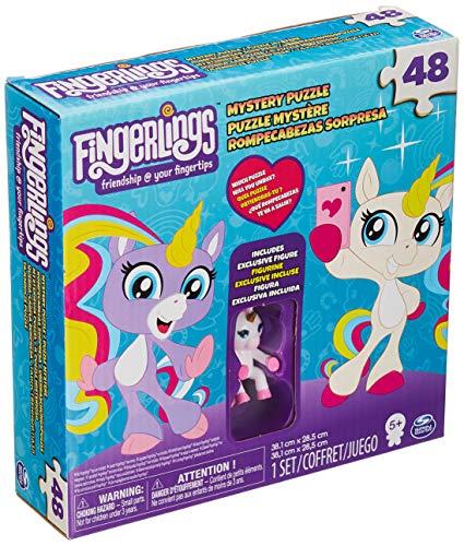 Spin Master Games 6045565 - Puzzle Fingerling con 1 Mini Fingerling Unicorno