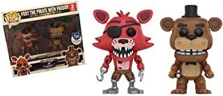 Funko POP Games: Five Nights at Freddy's – Foxy the Pirate Fox with Freddy Fazbear – FYE 2 pack Exclusive