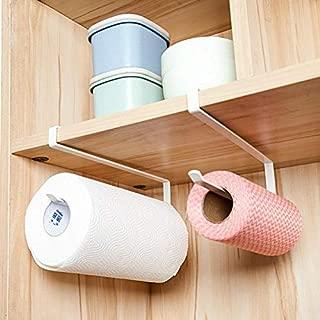 Unknown Kitchen Storage Rack Tissue Hook Toilet Roll Paper Holder Bathroom Towel Rack Shelf Door Sink Hanging Organizer