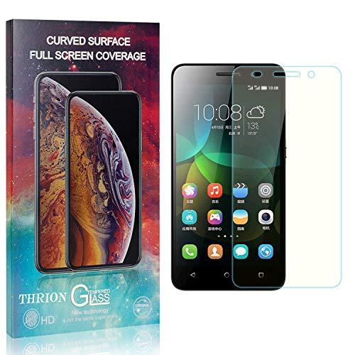 THRION 3 Stück Panzerglas Folie Schutzfolie für Honor 4C, HD Anti-Kratzen Bildschirmschutzfolie für Huawei Honor 4C