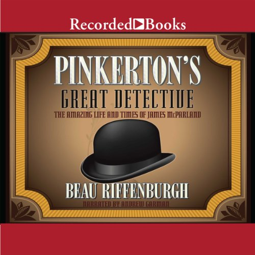 Pinkerton's Great Detective audiobook cover art