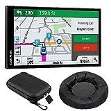 Garmin 010-01681-02 DriveSmart 61 NA LMT-S GPS w/Smart Features Dash-Mount Bundle - (Renewed)