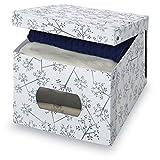 Domopak 212Y56 - Caja PVC XL Bon Ton 42X50X31 Cm