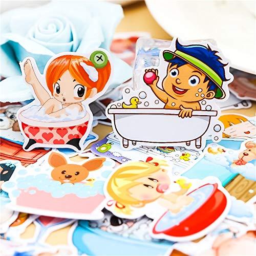 Creatieve Kawaii schattige handen, mooie meisjes, om te knutselen, voor scrapbooking, decoratieve stickers, fotoalbum, 40 stuks