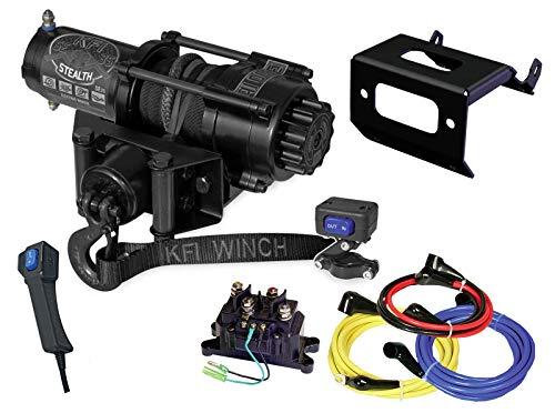 Best Review Of KFI Combo Kit - SE35 3500 lb Stealth Winch & Winch Mount - compatible with 2016-2018 ...