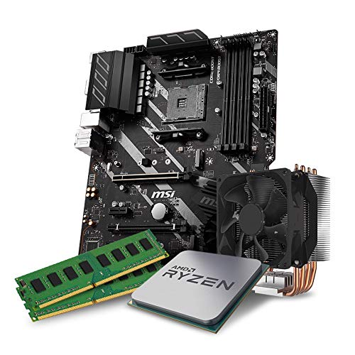 Kiebel Aufrüst-Bundle - AMD Ryzen 7 3700X 8-Kern (8x3.6 GHz), 16GB DDR4 3000, MSI X570-A Pro, Aufrüst Set komplett vormontiert und getestet [182205]