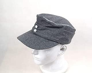 Replica WWII German M43 Officer WH EM fieldPanzer Wool Cap Hat Grey 57 58 59 60cm