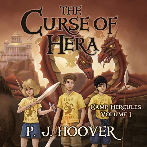 The Curse of Hera Audiobook By P.J. Hoover cover art