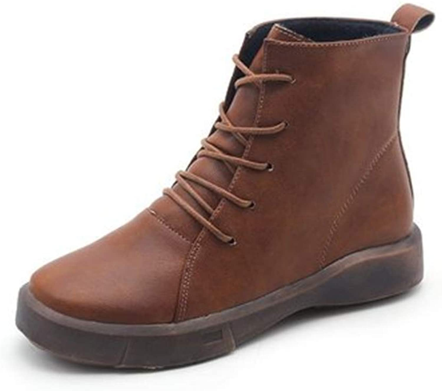 Excellent.c Thick Martin Boots Popular Women's shoes Comfortable Booties
