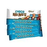 No Whey Foods - Choco No No's (4 Pack) - Vegan Chocolate Candy - Dairy Free, Peanut Free, Nut Free, Soy Free, Gluten Free