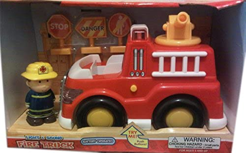 ahorra 50% -75% de descuento Lights and and and Sounds Fire Truck  El ultimo 2018