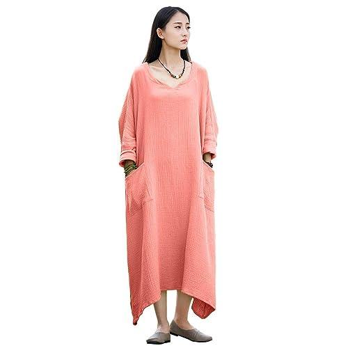 8d90e2e266 Casual Linen Dresses: Amazon.com