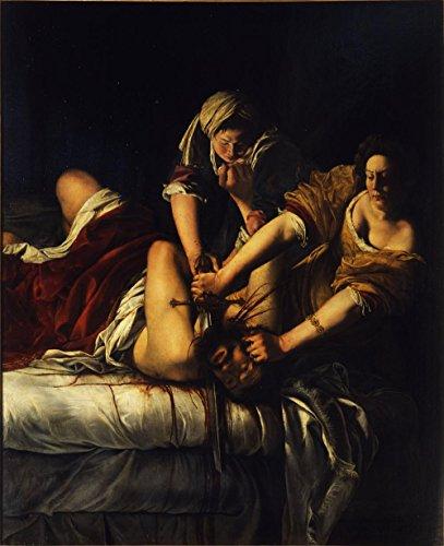 Laminated 24x29 Poster: Artemisia Gentileschi - Giuditta decapita Oloferne - Google Art Project