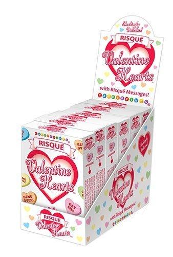 Risque Conversation Hearts - 6 Boxes by Conversation Hearts