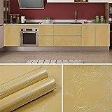 WLG Protección de la Pared Papel Pintado Decorativo Cocina Papel Pintado a Prueba de Grasa Pegatina Armario Armario Renovación de la Mesa Pegatinas de Pared Refrigerador Película Adhesiva Impermeable