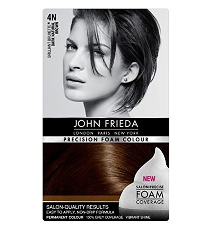 味ダニマーカージョン?フリーダ精密泡カラー4Nのダークナチュラルブラウン (John Frieda) (x2) - John Frieda Precision Foam Colour 4N Dark Natural Brown (Pack of 2) [並行輸入品]