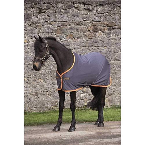 Horseware Amigo Jersey Cooler mit abnehmbaren Kreuzgurten Pony - Atlantic Blue/Atlantic Blue&Ivory - Abschwitzdecke